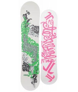 Technine Girls Series Snowboard White/Silver 121