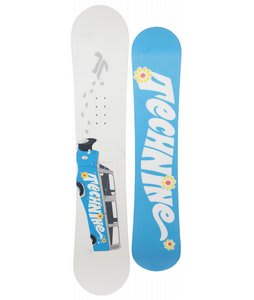 Technine Girls Series Snowboard White/Turquoise 131