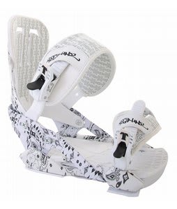 Technine Coulter Pro Military Snowboard Bindings White Paisley