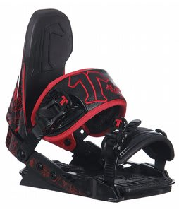 Technine T Nine Snowboard Bindings Black/Red/White