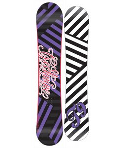 Technine Glam Rocker Snowboard Black 144
