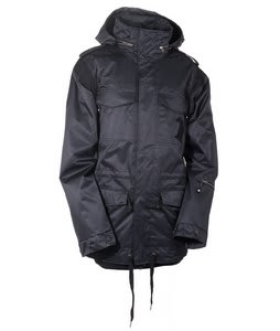 Technine Gooner Military Shell Snowboard Jacket Black