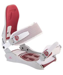 Technine JV Snowboard Bindings Off White/Red