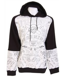 On Sale Technine Logo Pattern Hoodie up to 65% off