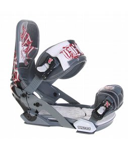 Technine Mfm Pro Snowboard Bindings Grey