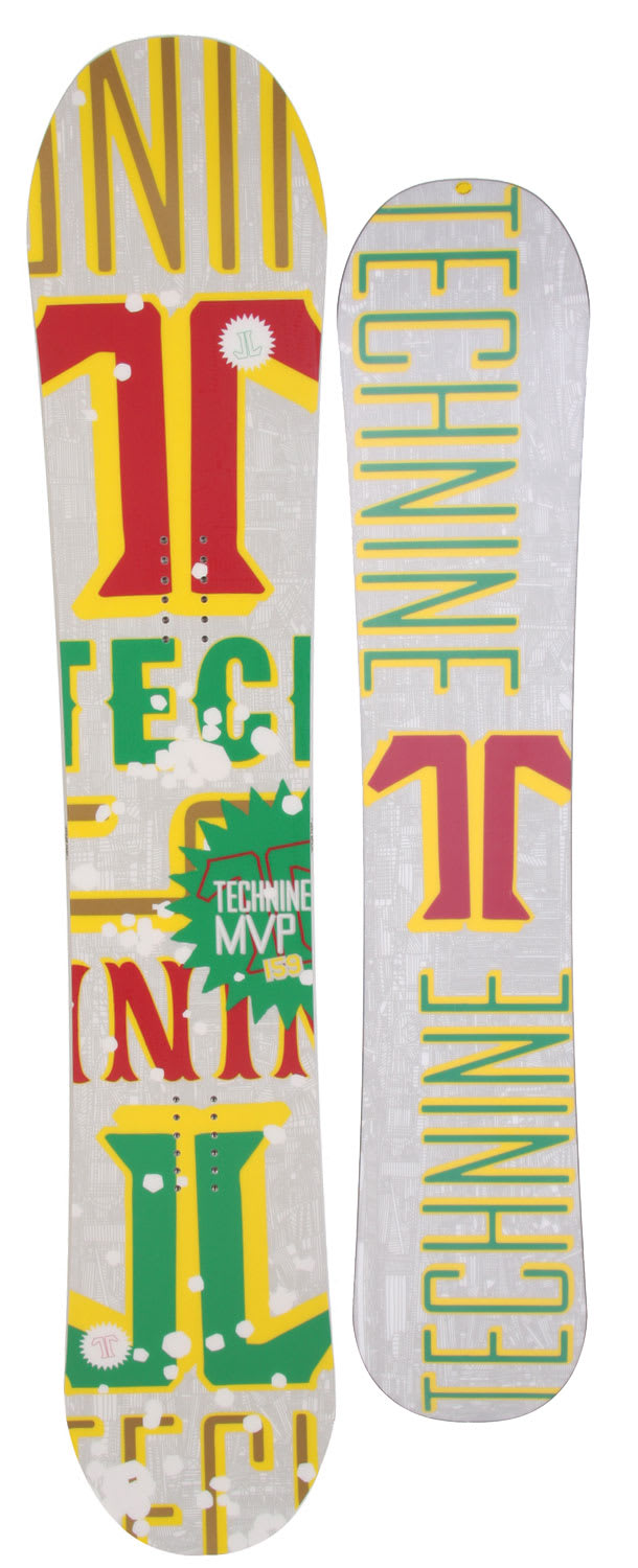 Shop for Technine MVP Series Snowboard 159 Rasta - Men's