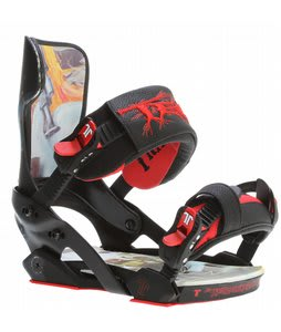 Technine TK Pro w/ Scrub Hook Snowboard Bindings