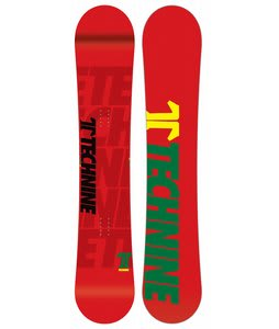 Technine T-Money Snowboard Rasta 153
