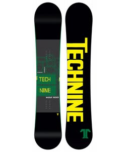 Technine Wassup Rocker Snowboard Black 155