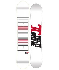 Technine Wassup Rocker Snowboard White Lines 152