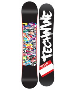 Technine Young Gun Snowboard Black 144