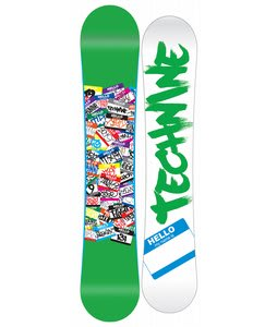 Technine Young Gun Snowboard Green 141