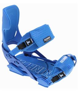 Technine Elements Pro Snowboard Binding Blue