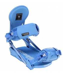 Technine Elements Pro Snowboard Bindings Blue Raz