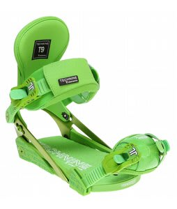 Technine Elements Pro Snowboard Bindings Green