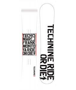 Technine MFM Classic Snowboard White 158