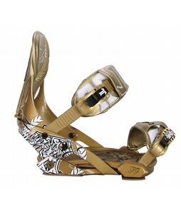 Technine Nines Pro Series Snowboard Bindings Gold