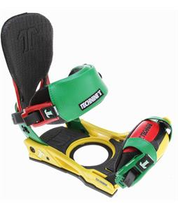 Technine Split-T Snowboard Binding Rasta