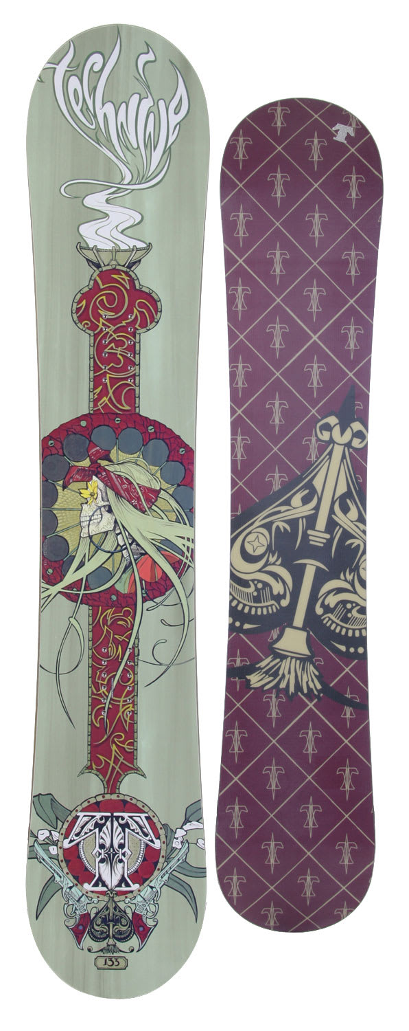 Shop for Technine Suerte Series Snowboard 150 Hemlock - Women's