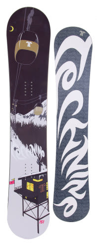 Technine True Love Snowboard Night 148