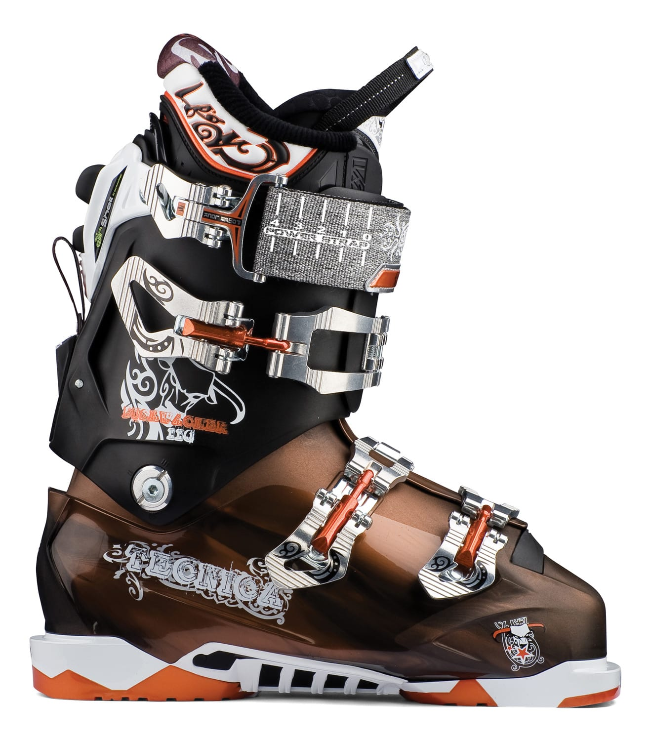 Shop for Tecnica Bushwacker Air Shell Ski Boots Copper/Black - Men's