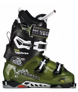 Tecnica Cochise 110 Ski Boots T. Green/Black