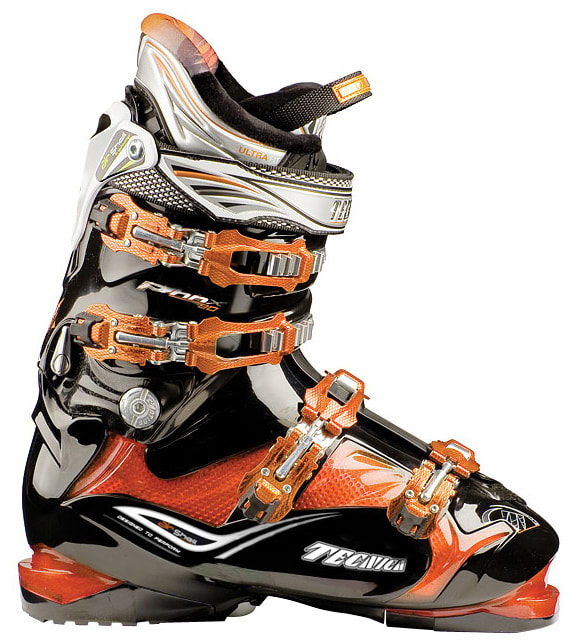 Shop for Tecnica Phoenix 90 Air Shell Ski Boots T Orange/Black - Men's