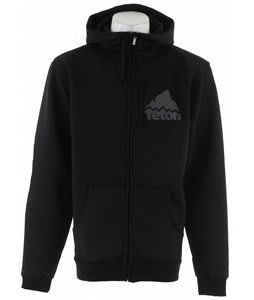 Teton Team Bonded Hoodie Black