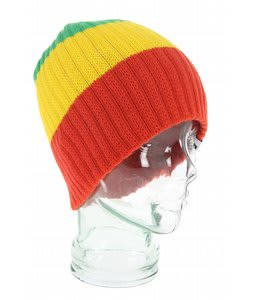 Teton Trifecta Beanie Red/Yellow/Green