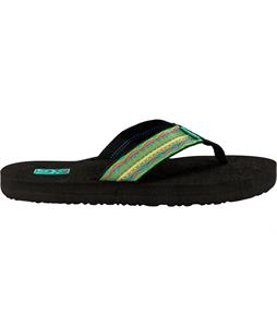 Teva Mush II Sandals Santori Tribal Neon Lime