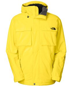 The North Face Decagon Ski Jacket Energy Yellow