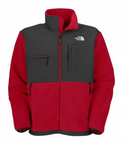 The North Face Denali Fleece TNF Red/Asphalt Grey