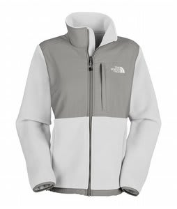 The North Face Denali Fleece TNF White Heather/Metallic Silver