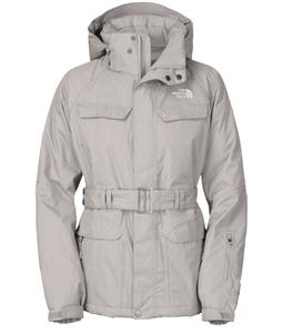 The North Face Get Down Ski Jacket Metallic Silver