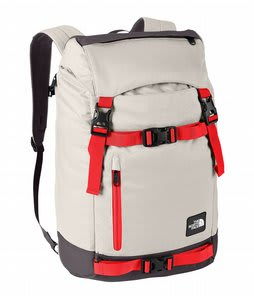 The North Face Pre-Hab Backpack Ether Grey/Fiery Red