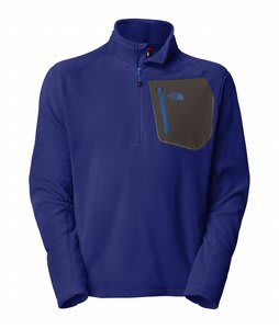 The North Face Tka 100 Trinity Alps 1/4 Zip Jacket Bolt Blue