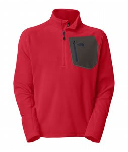 The North Face Tka 100 Trinity Alps 1/4 Zip Jacket TNF Red