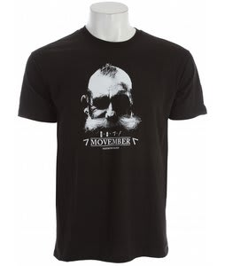 House Mo Manly T-Shirt Black