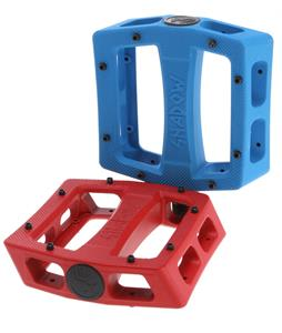 The Shadow Conspiracy Ravager Alloy Loose Ball Bike Pedals Red 9/16