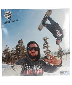 Think Thank Brain Dead Heart Attack Snowboard DVD/Bluray Combo