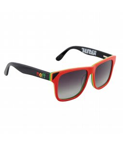 Neff Thunder Sunglasses Polarized Rasta Lens
