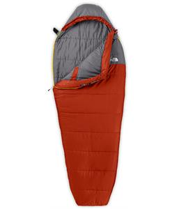 The North Face Aleutian 50/10 Sleeping Bag Red Clay/Zinc Grey Reg LH