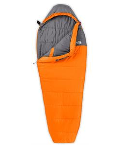 The North Face Aleutian 35/2 Sleeping Bag Russet Orange/Zinc Grey Long LH