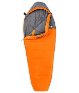 The North Face Aleutian 35/2 Sleeping Bag Russet Orange/Zinc Grey Reg LH