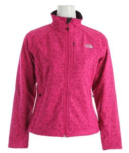The North Face Apex Bionic Jacket Fuschia Pink Trifecta Print