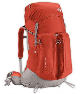 The North Face Banchee 50 Backpack Red Clay/Zion Orange