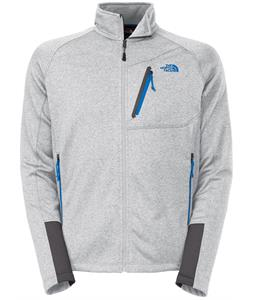 The North Face Canyonlands Full Zip Fleece High Rise Grey Heather