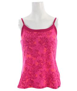 The North Face Dana Printed Tank Fuschia Pink Floral Print