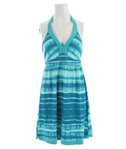 The North Face Echo Lake Dress Flamenco Blue Shibori Print