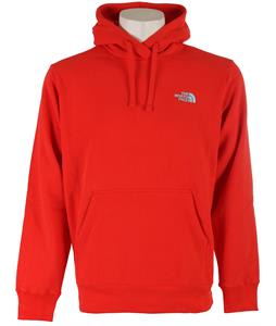 The North Face Emb Logo Pullover Hoodie Fiery Red